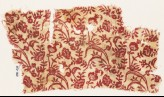 Textile fragment with plants, leaves, and flowers (EA1990.434)