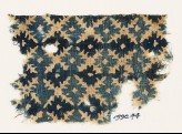 Textile fragment with serrated crosses (EA1990.44)