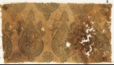 Textile fragment with spirals in braided tear-drops (EA1990.443.a)