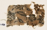 Textile fragment with flowers and leaves (EA1990.458)