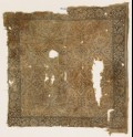 Textile fragment with geometric plants and flowers (EA1990.466)