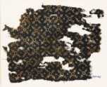 Textile fragment with serrated crosses (EA1990.47)