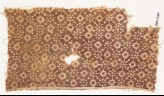 Textile fragment with rosettes and lobed diamond-shapes (EA1990.470)