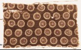 Textile fragment with rosettes in circles (EA1990.484)