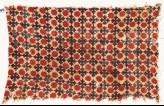 Textile fragment with Maltese crosses and floral shapes (EA1990.499)