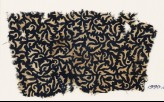 Textile fragment with swirling leaves (EA1990.50)