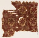 Textile fragment with linked quatrefoils and rosettes (EA1990.508)