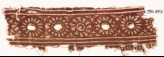 Textile fragment with band of rosettes (EA1990.547)