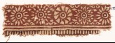 Textile fragment with band of rosettes (EA1990.548)