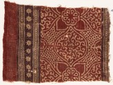 Textile fragment with medallions, tendrils, quatrefoils, and rosettes (EA1990.639)