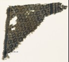 Textile fragment with star-shaped grid made of dots (EA1990.64)