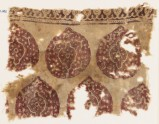 Textile fragment with tear-drop medallions (EA1990.702)