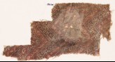 Textile fragment with chevrons, hexagons, and flowers (EA1990.704)