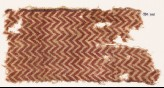 Textile fragment with chevrons (EA1990.706)