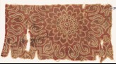 Textile fragment with an elaborate rosette and leaves (EA1990.717)