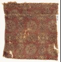 Textile fragment with linked cartouches and stars (EA1990.742)