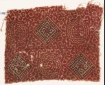 Textile fragment with medallions and tendrils (EA1990.743)