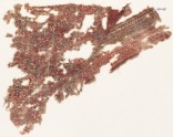 Textile fragment with interlacing tendrils and quatrefoils (EA1990.749)
