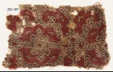 Textile fragment with elaborate interlace (EA1990.769)