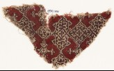 Textile fragment with cartouches, squares, and medallions (EA1990.771)