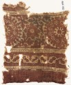 Textile fragment with rosettes, leaves, and stems (EA1990.786)