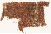Textile fragment with medallions, quatrefoil, and rosettes (EA1990.791)