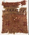 Textile fragment with medallions, quatrefoils, and rosettes (EA1990.792)