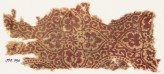 Textile fragment with quatrefoils and tendrils (EA1990.796)