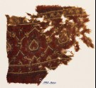 Textile fragment with interlacing tendrils and leaves (EA1990.800)