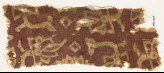 Textile fragment with stylized flowers or trees (EA1990.815)