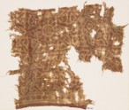 Textile fragment with rosettes, squares, and leaves (EA1990.817)