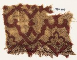 Textile fragment with interlacing tendrils (EA1990.819)