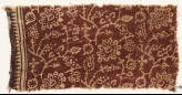 Textile fragment with flowers, leaves, and tendrils (EA1990.822)