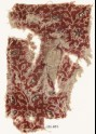 Textile fragment with tendrils, leaves, and flower-heads (EA1990.837)
