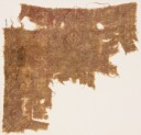 Textile fragment with leaves and quatrefoils (EA1990.840)