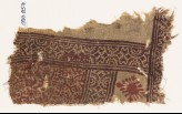 Textile fragment with tendrils and rosettes (EA1990.857)