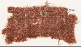 Textile fragment with rosettes and tendrils (EA1990.861)