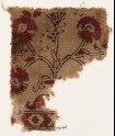 Textile fragment with flower (EA1990.864)