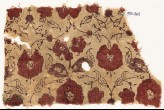 Textile fragment with flowers (EA1990.865)