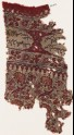 Textile fragment with flowers and Arabic inscription (EA1990.872)