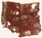 Textile fragment with flowers (EA1990.880)