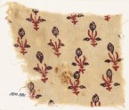 Textile fragment with flowers (EA1990.881)