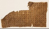 Textile fragment with grid of flowers (EA1990.896)