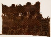 Textile fragment with flowers and leaves (EA1990.900)
