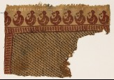 Textile fragment with S-shapes and crescents