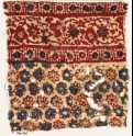 Textile fragment with rosettes and vine (EA1990.905)