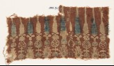 Textile fragment with stylized plants (EA1990.911)