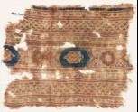 Textile fragment with bands of crosses and medallions (EA1990.938)