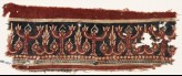 Textile fragment with flowering trees (EA1990.940)