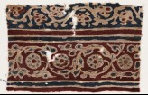Textile fragment with vines and flowers (EA1990.970)